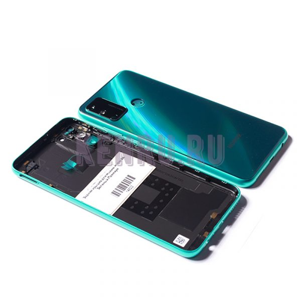 Задняя крышка для Huawei Honor 9A Зеленый-Премиум