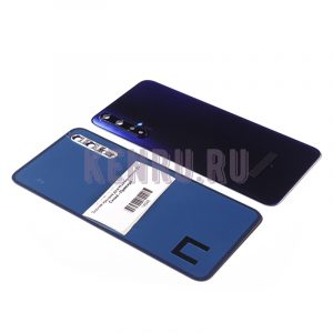 Задняя крышка для Huawei Honor 20 Синий - Премиум