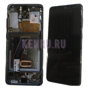 Дисплей для Samsung S20 модуль Черный - OR