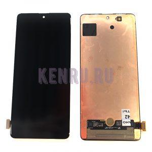 Дисплей для Samsung M515F M51 A715F A71 в сборе с тачскрином Черный - OR