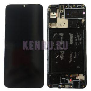 Дисплей для Samsung A307F A30s модуль Черный - OR