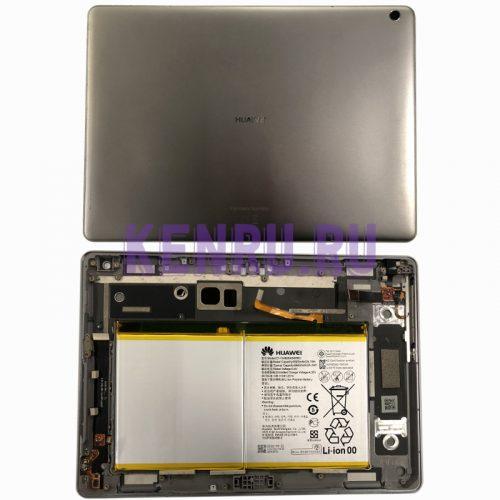 Задняя крышка для Huawei MediaPad M3 Lite 10.0 BAH-L09 с акб HB26A510EBC - Серый