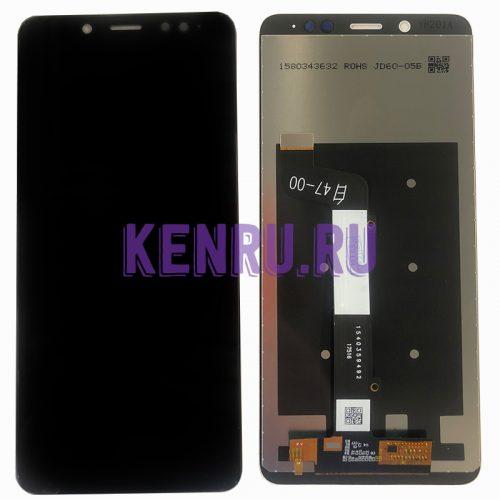 Дисплей для Xiaomi Redmi Note 5 Note 5 Pro в сборе с тачскрином Черный
