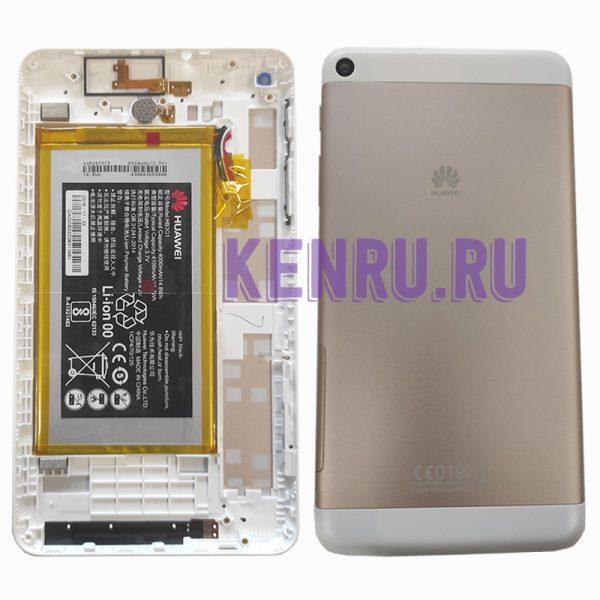 Задняя крышка для Huawei MediaPad T1 7,0 T1-701 T1-701UA T1-701U T1-701W с АКБ Золото