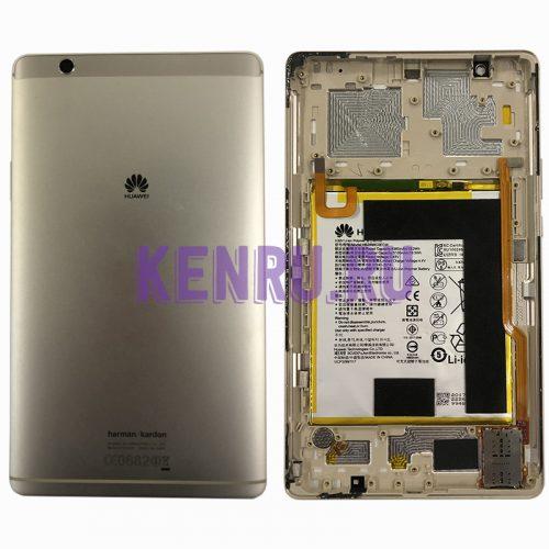 Задняя крышка для Huawei MediaPad M3 BTV-DL09 с акб HB2899C0ECW - Золото