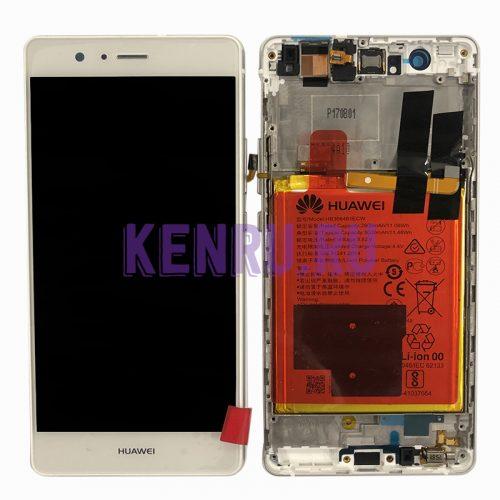 Дисплей для Huawei P9 Lite в сборе Белый - OR в корпусе