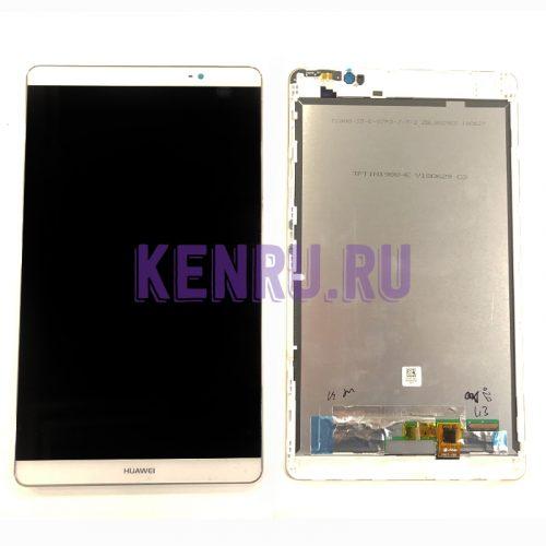 Дисплей для Huawei MediaPad M2 8.0 M2-801L в сборе Белый -OR
