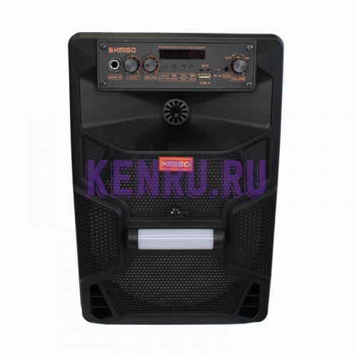 KIMISO QS-7805 Колонка микрофон пульт Черная