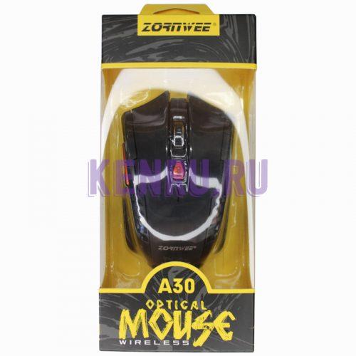 Беспроводная мышь Zornwee A30 Черный