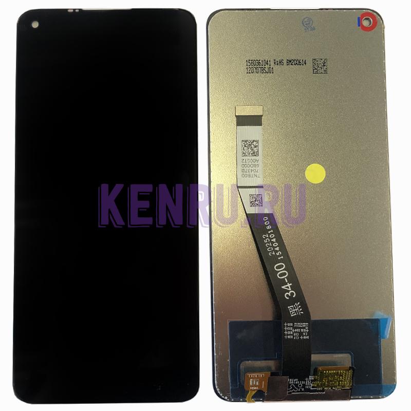 Дисплей для Xiaomi Redmi Note 9 в сборе с тачскрином Черный