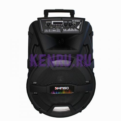 KIMISO QS-1211 Колонка микрофон пульт Черная